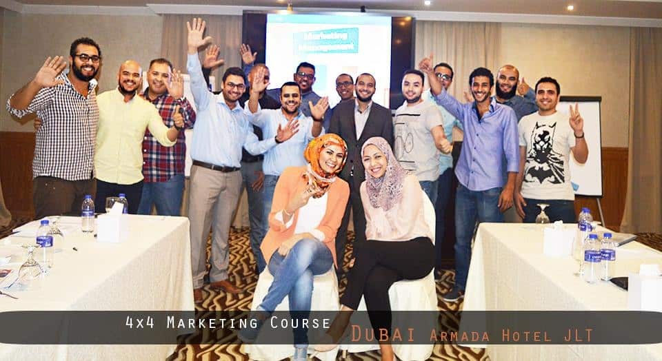 4×4 Marketing Course -Dubai April 2017