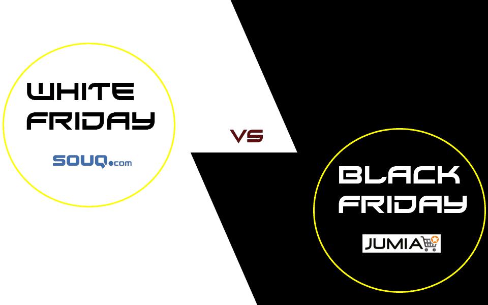 سوق و جوميا Black Friday Vs. White Friday