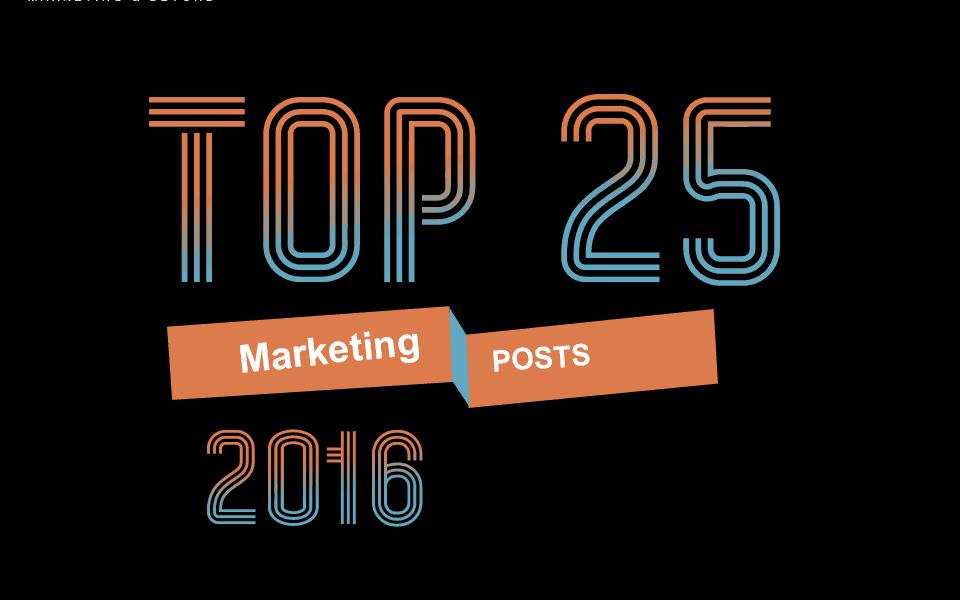 Top 25 Marketing Posts