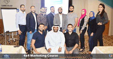 4×4 Marketing Course -Dubai November 2018